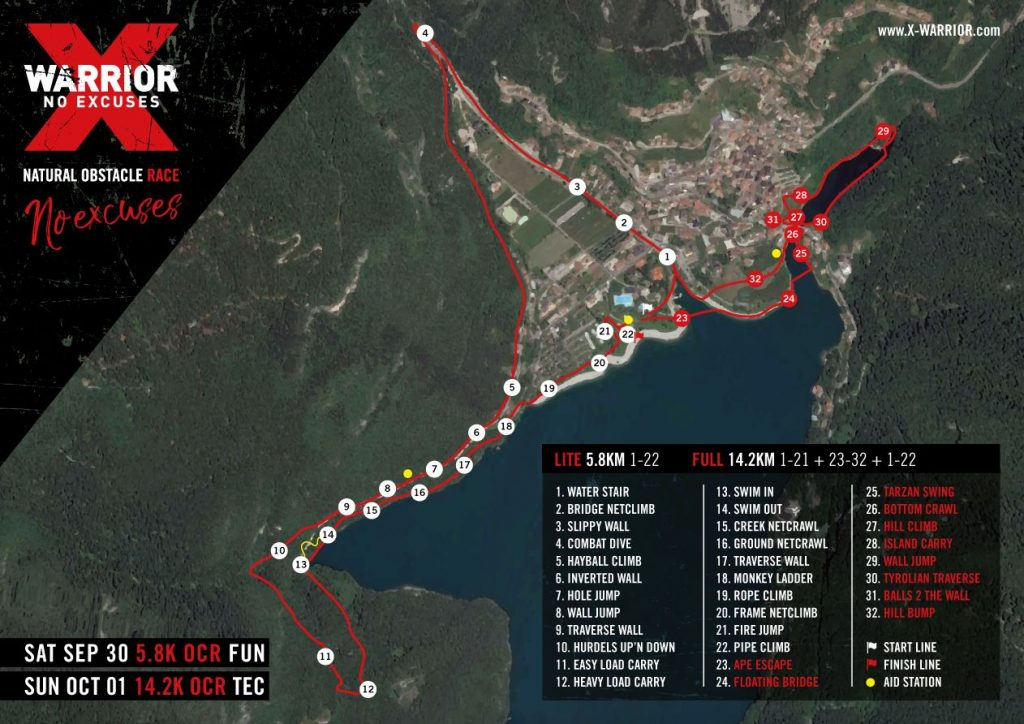 X-TRAIL NATURAL OBSTACLE RACE al Lago di Molveno